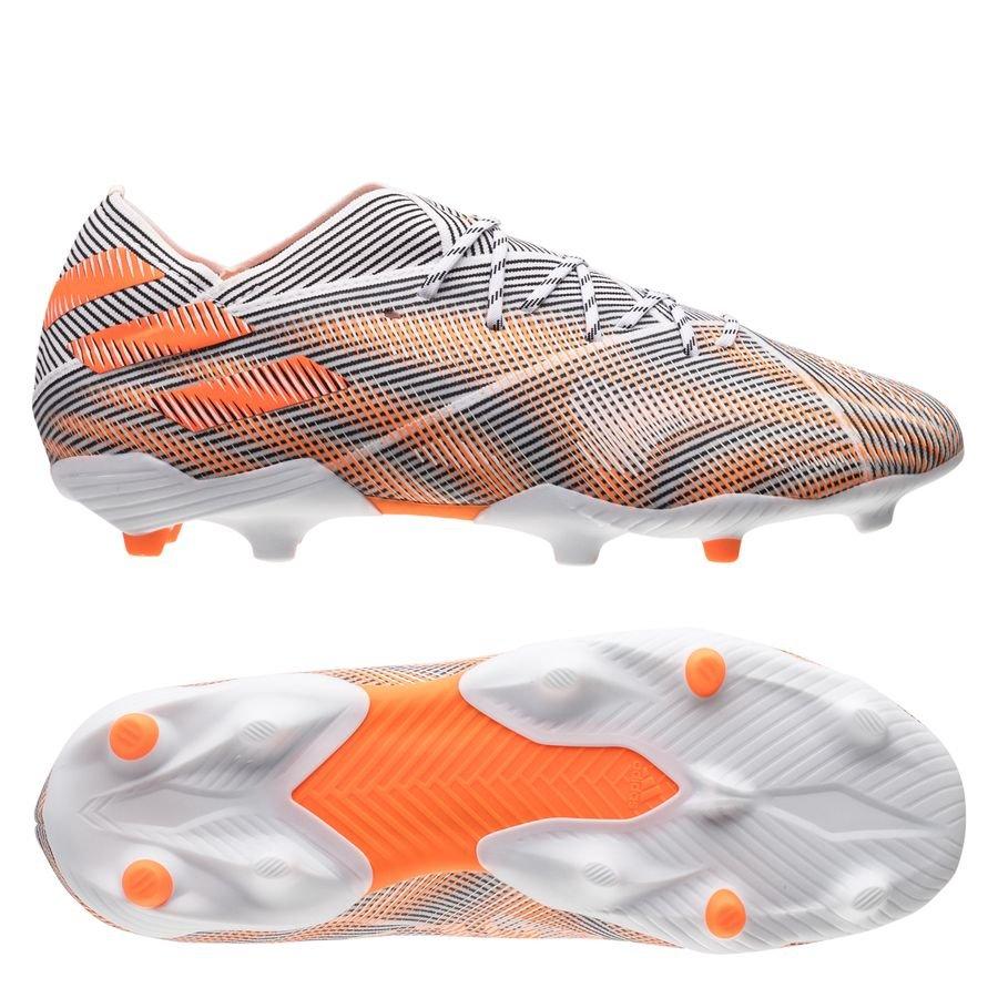 adidas Nemeziz .1 FG/AG Superspectral - Hvid/Orange/Sort Børn