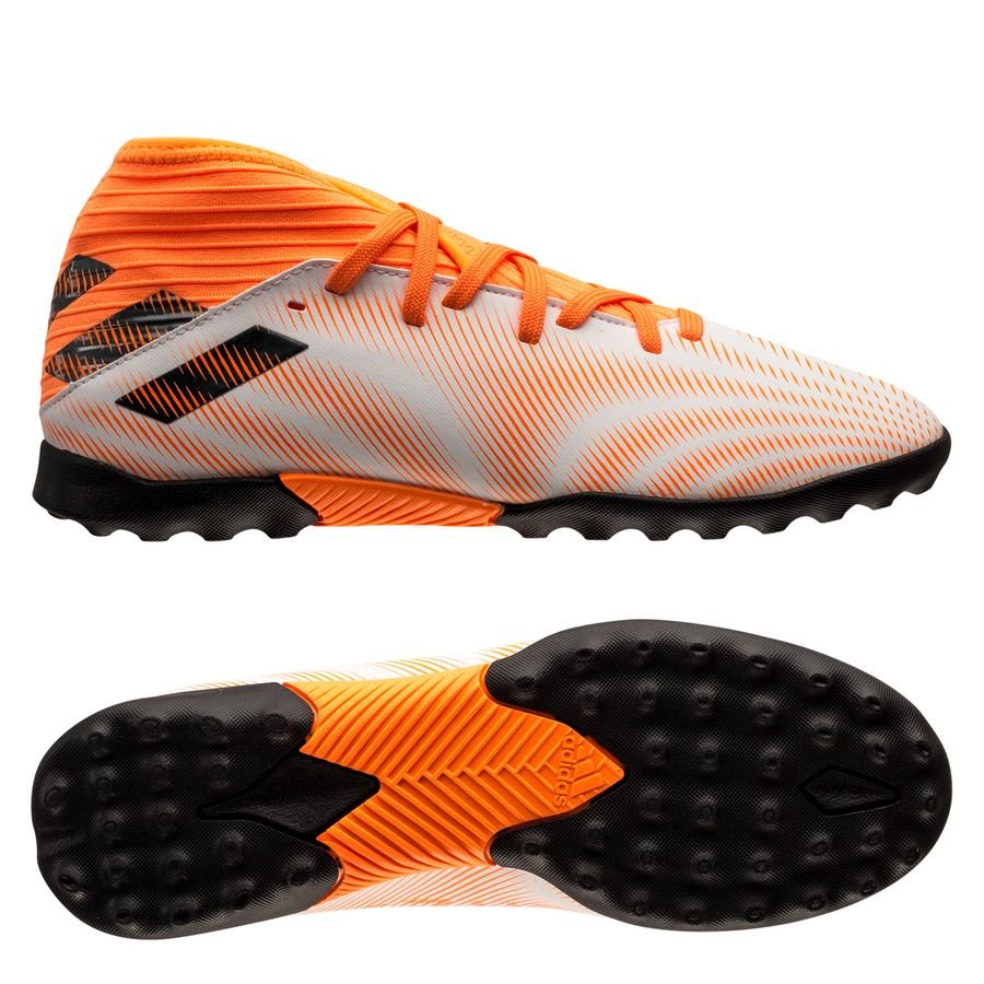adidas Nemeziz .3 TF Superspectral - Hvid/Orange/Sort Børn
