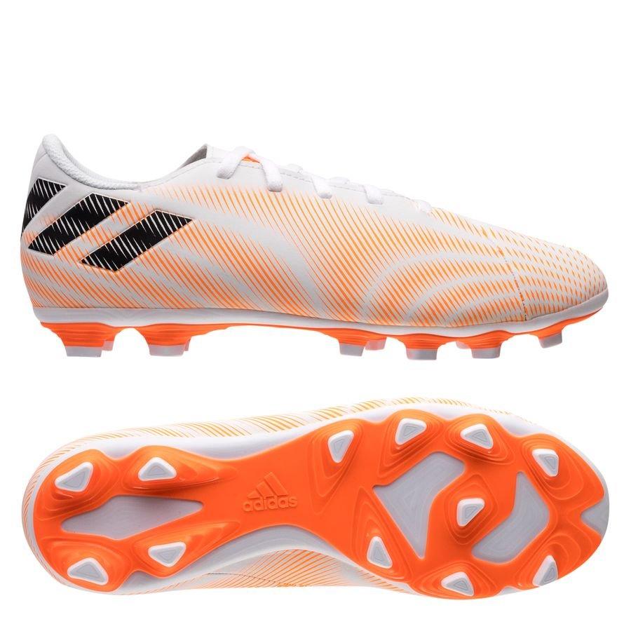 adidas Nemeziz .4 FG/AG Superspectral - Hvid/Orange/Sort Børn