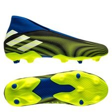 adidas Nemeziz .3 FG/AG Laceless - Sort/Hvid/Gul
