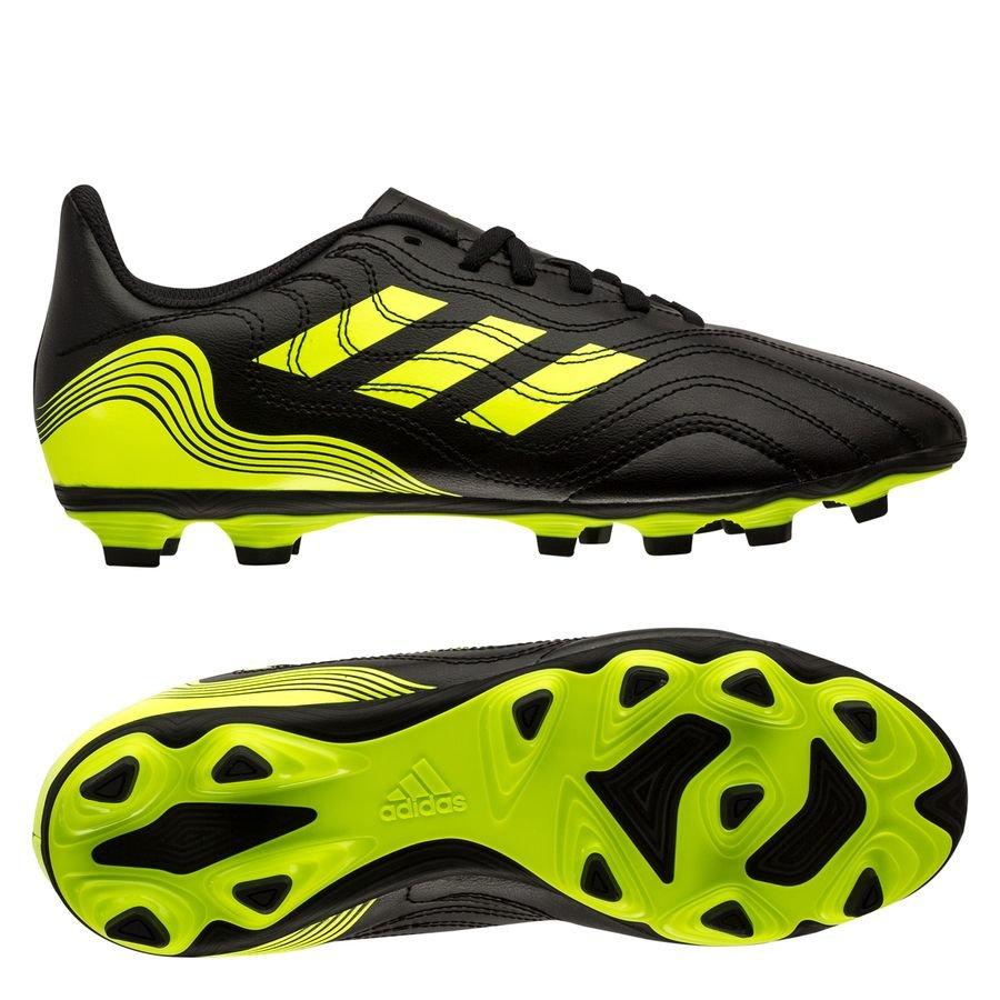 adidas Copa Sense .4 FG/AG Superlative - Sort/Gul Børn thumbnail