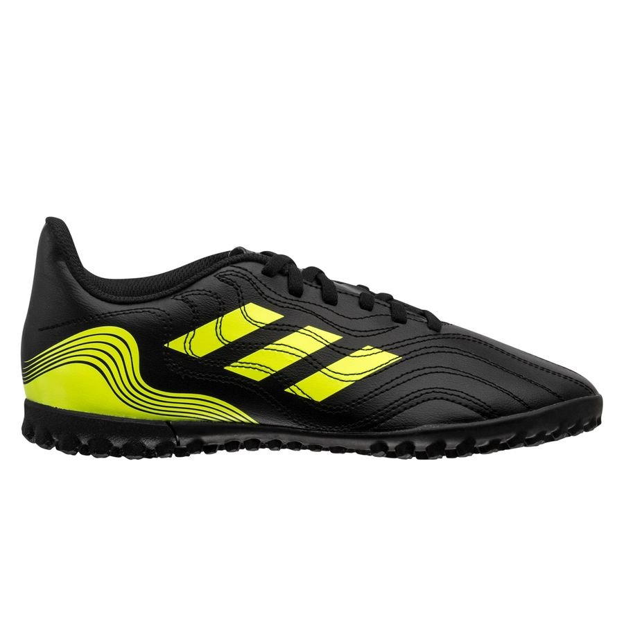 adidas Copa Sense .4 TF Superlative - Sort/Gul Børn thumbnail