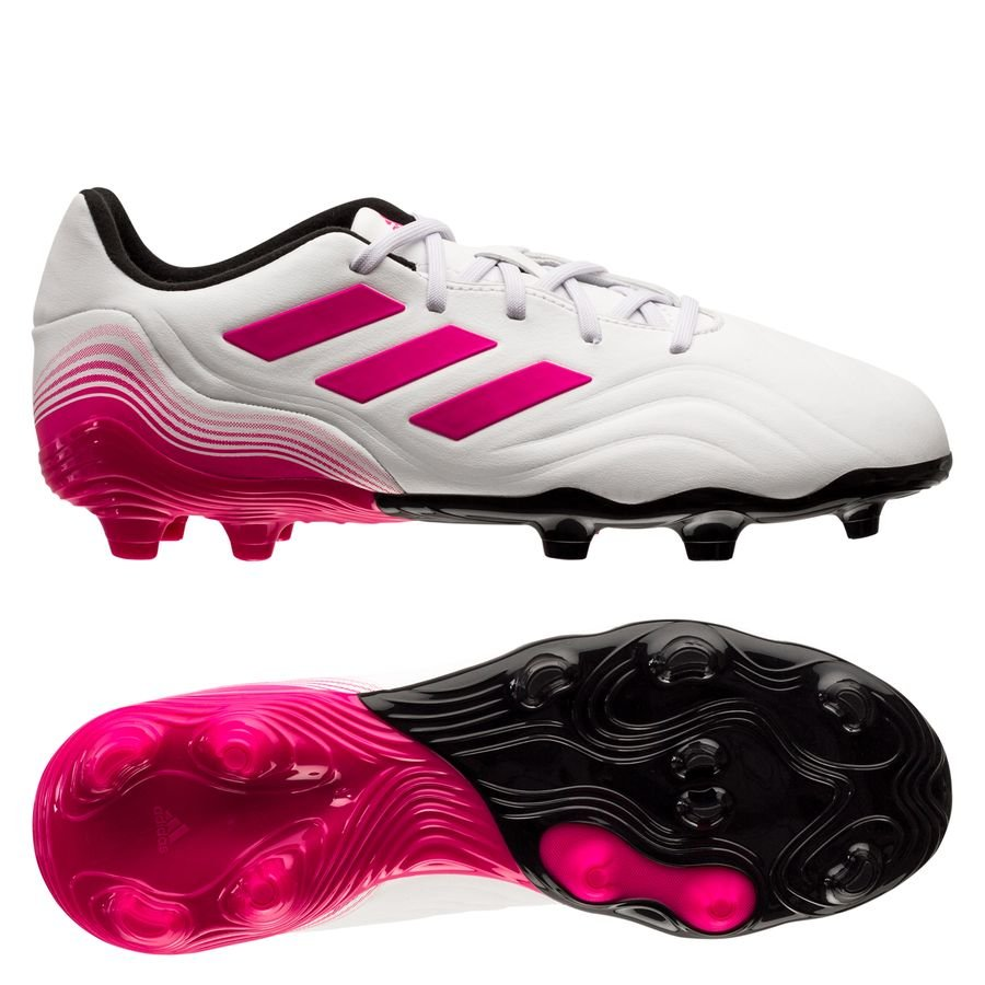 adidas Copa Sense .3 FG/AG Superspectral - Hvid/Pink Børn