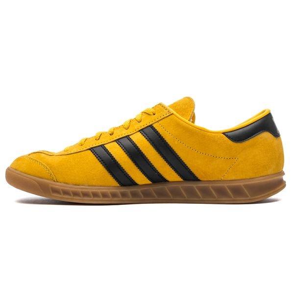 adidas Originals Chaussures Hamburg IN - Jaune/Noir/Doré | www ...
