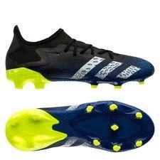 adidas Predator Freak .3 Low FG/AG - Sort/Hvid/Gul