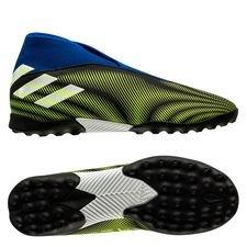 adidas Nemeziz .3 TF Laceless Superlative - Sort/Hvid/Gul Børn