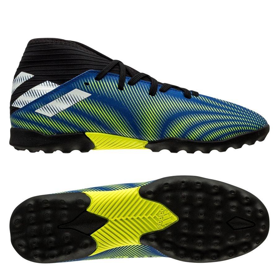 adidas Nemeziz .3 TF Superlative - Blå/Hvid/Gul Børn