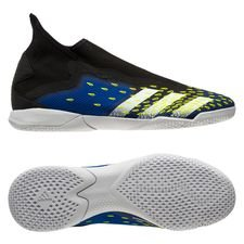 adidas Predator Freak .3 Laceless IN - Sort/Hvid/Gul