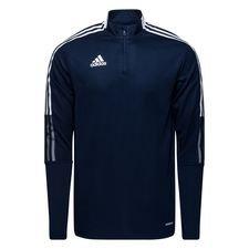 adidas Trainingsshirt Tiro 21 - Navy/Wit