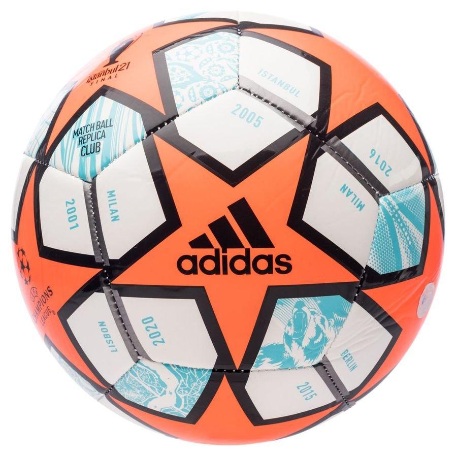 adidas Fodbold Champions League Finale 2021 Club - Hvid/Orange/Lilla FORUDBESTILLING thumbnail