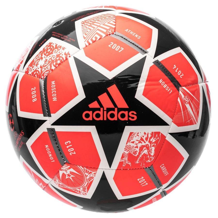 adidas Fodbold Champions League Finale 2021 Club - Rød/Sort/Hvid FORUDBESTILLING thumbnail