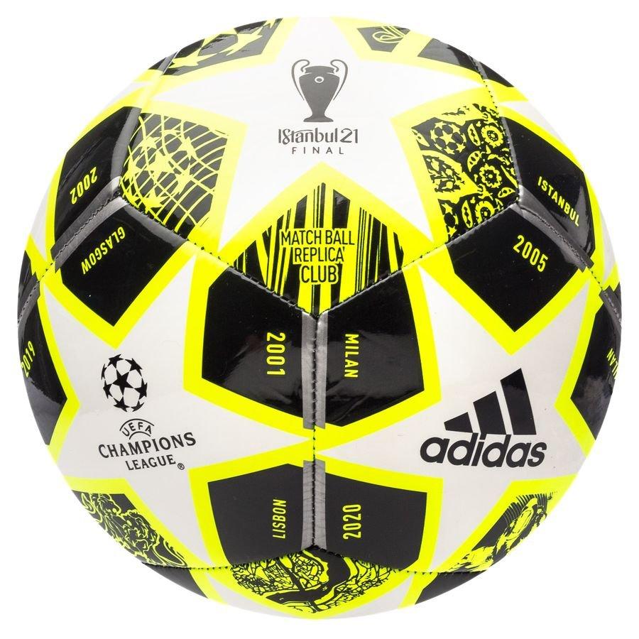 adidas Fodbold Champions League Finale 2021 Club - Gul/Hvid/Sort FORUDBESTILLING thumbnail