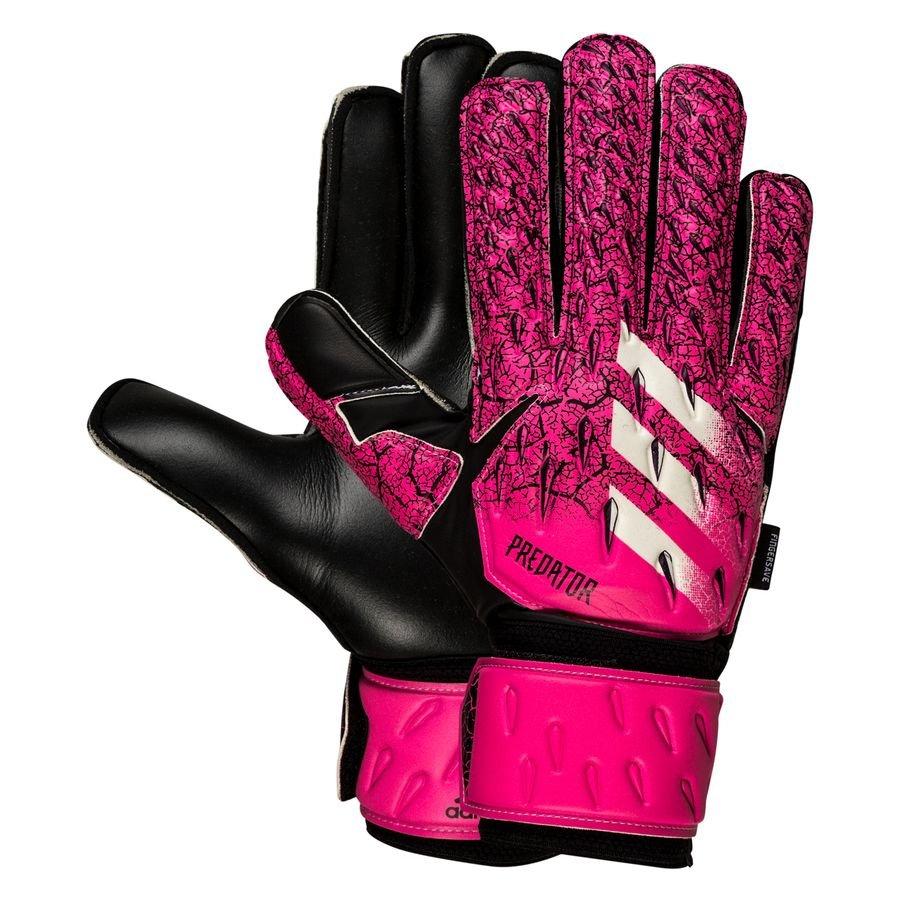 adidas Keepershandschoenen Predator Match Fingersave Superspectral - Roze/Zwart