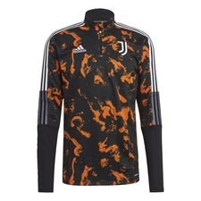 Juventus Träningströja AOP - Svart/Orange