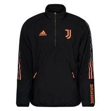 Juventus Jacka Travel Fleece - Svart/Orange