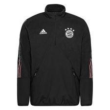 Bayern München Jacka Travel Fleece - Grå