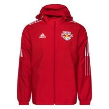 New York Red Bulls Jacka All Weather - Röd