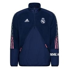 Real Madrid Jacka Travel Fleece - Navy