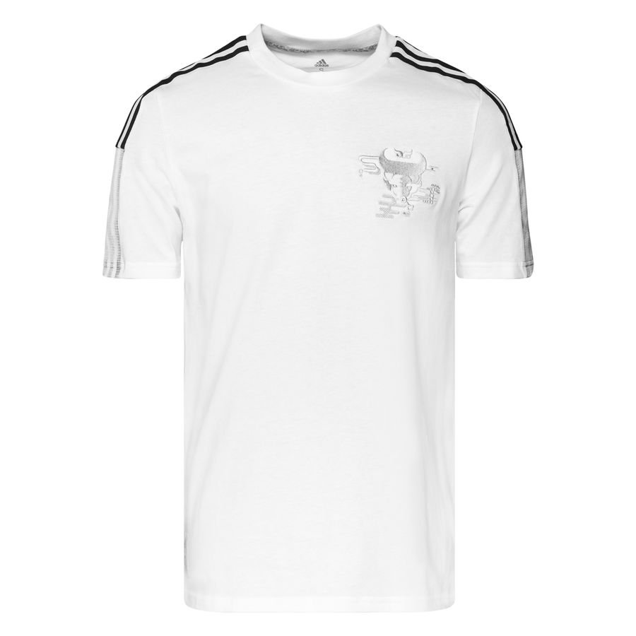 adidas Real Madrid T-Shirt Chinese New Year - Hvid