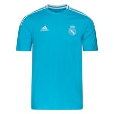 Real Madrid T-Shirt - Turkos
