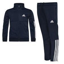 adidas Trainingspak 3-Stripes - Navy/Wit Kinderen