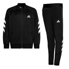 adidas Trainingspak XFG - Zwart/Wit Kinderen