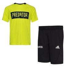 adidas Predator Set - Geel/Zwart Kinderen