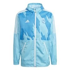 Real Madrid Windbreaker - Turkos