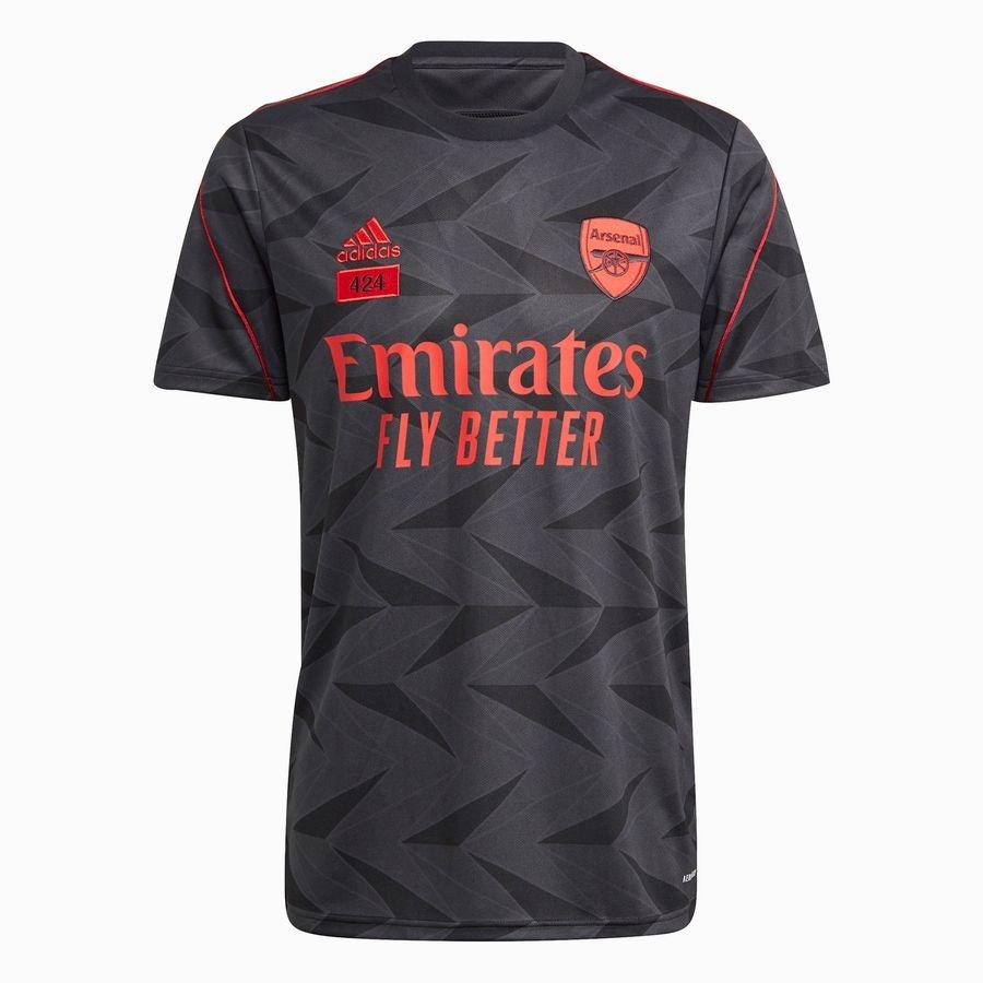 Arsenal Spillertrøje 424 - Sort/Rød LIMITED E
