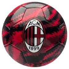 Milan Fotboll Iconic Big Cat - Svart/Röd