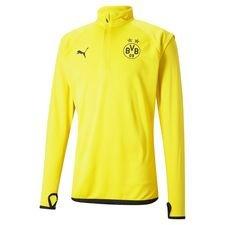 Dortmund Träningströja Midlayer Warm Up - Gul/Svart