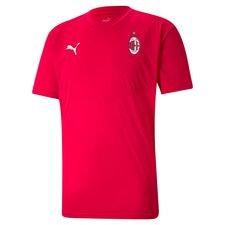Milan Tränings T-Shirt Warm Up - Röd/Svart