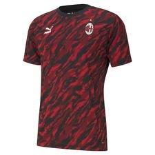 Milan T-Shirt Iconic Graphic - Röd/Svart