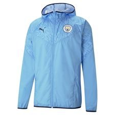 Manchester City Jacka Warm Up - Blå/Navy