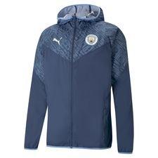 Manchester City Jacka Warm Up - Blå/Blå