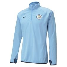 Manchester City Träningströja Midlayer Warm Up - Blå/Navy