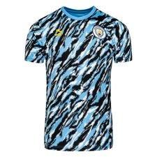 Manchester City T-Shirt Iconic Graphic - Svart/Blå/Vit