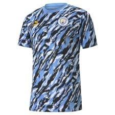 Manchester City T-Shirt Iconic Graphic - Svart/Blå/Vit Barn