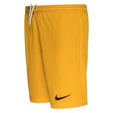 Nike Shorts Dry Park Iii - Gold/schwarz Kinder