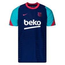Barcelona Tränings T-Shirt VaporKnit Strike - Navy/Röd