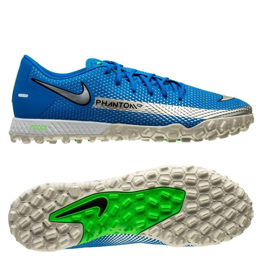Nike Phantom GT Pro TF Spectrum - Photo Blue/Metallic Silver/Rage Green