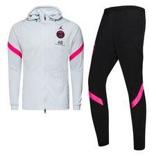 Paris Saint-Germain Trainingspak Dry Strike Jordan x PSG - Grijs/Zwart/Roze