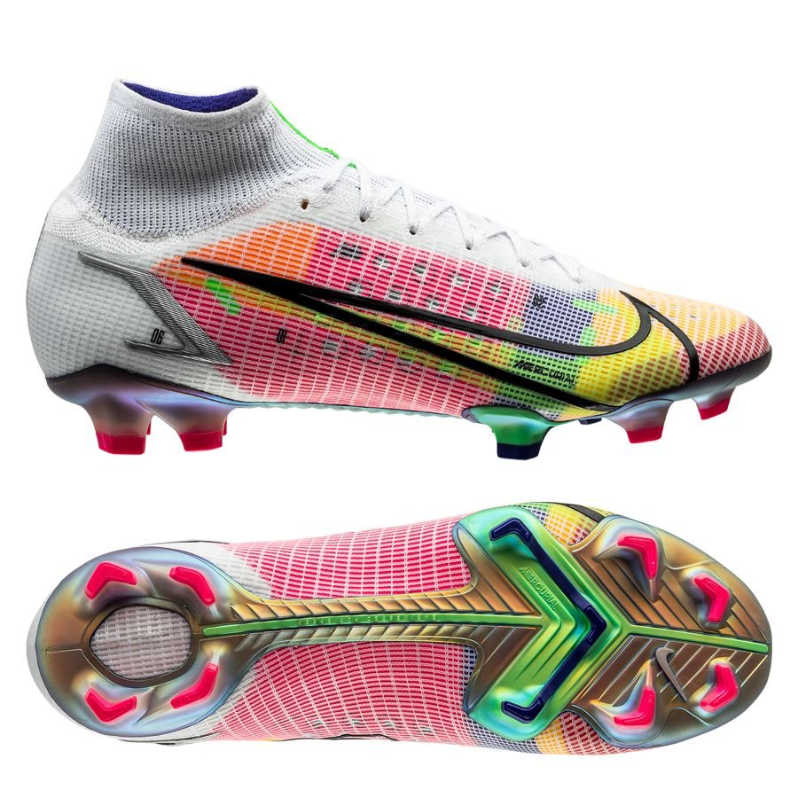 Nike Mercurial Superfly 8 Elite FG Dragonfly - Wit/Zilver/Paars LIMITED EDITION <br/>EUR 269.95 <br/> <a href=