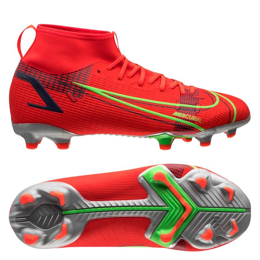 Nike Mercurial Superfly 8 Academy MG Spectrum - Rood/Zilver Kinderen <br/>EUR 69.95 <br/> <a href=
