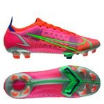 Nike Mercurial Vapor 14 Elite FG Spectrum - Rouge/Argenté