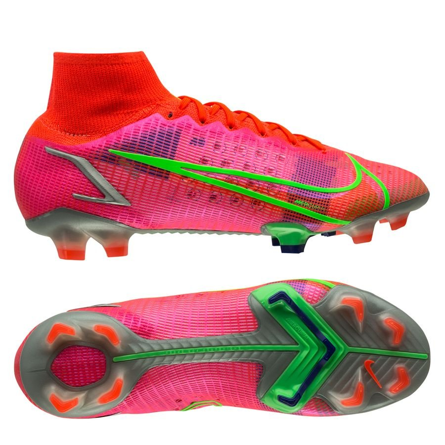Nike Mercurial Superfly 8 Elite FG Spectrum - Rood/Zilver <br/>EUR 188.95 <br/> <a href=