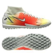 Nike Mercurial Superfly 8 Academy TF Dream Speed 4 - Hvid/Orange