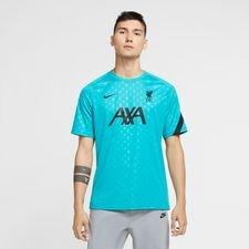 Liverpool Tränings T-Shirt Breathe Pre Match - Turkos/Svart