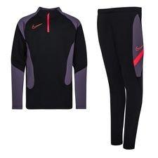 Nike Trainingspak Dri-FIT Academy MX - Zwart/Donkerrood Kinderen