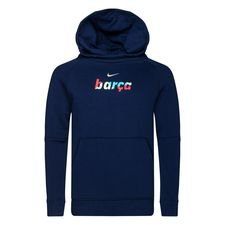 Barcelona Fleece Luvtröja - Navy/Grön Barn